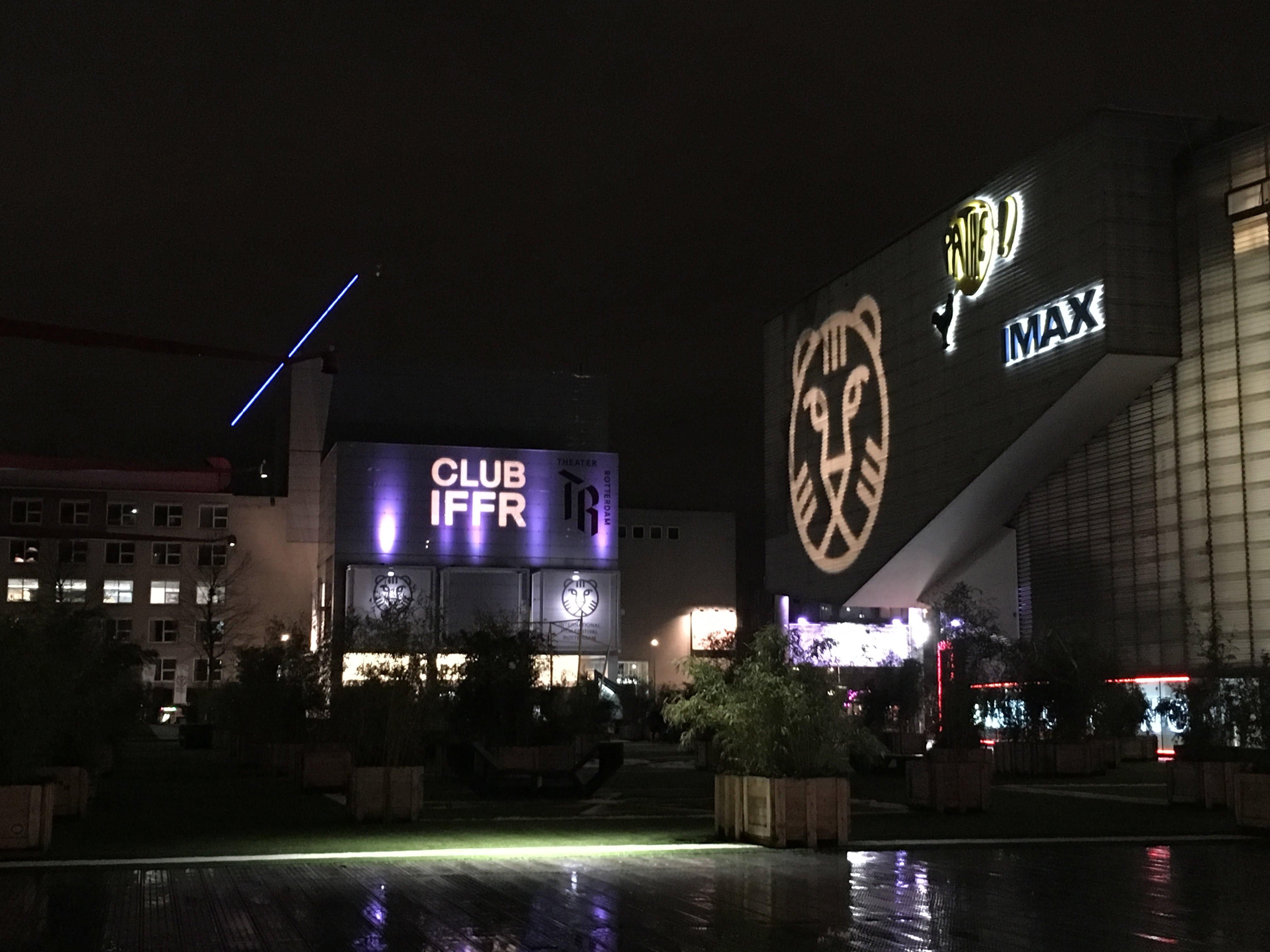 Schouwburgplein International Film Festival Rotterdam Nederland