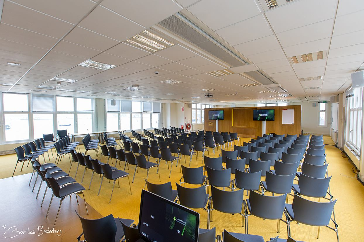 Innovation Expo Onderzeebootloods RDM events Baanderszaal