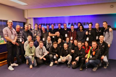 Groepsfoto Peitsman Licht en Geluid en Production Partners