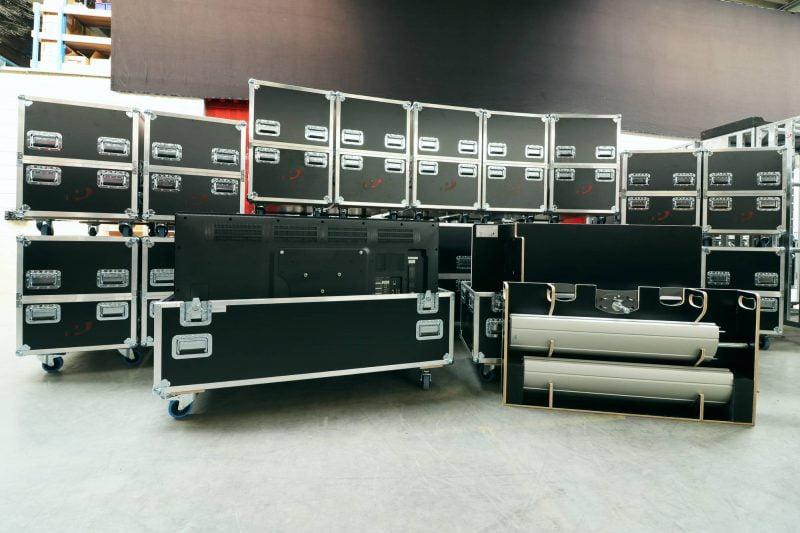 LCD schermen in verhuur Peitsman