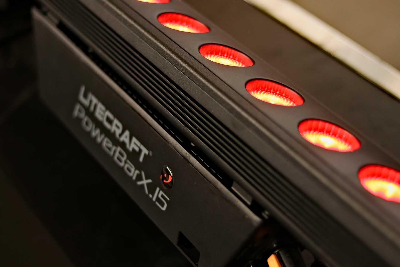 Litecraft PowerBar X.15 LED strip huren bij Peitsman Licht en Geluid
