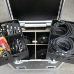 SDI kabelset in flightcase